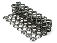 Brian Crower Dual Valve Spring & Steel Retainer Kit : Honda B16A / B18C / B17A - High Mileage Street