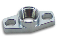 "Billet Aluminum GT Series Oil Drain Fitting : 1/2"" NPT"