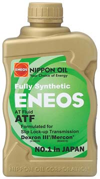 ENEOS Fully Synthetic Automatic Transmission Fluid (ATF)