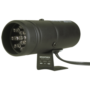 Auto Meter 12 LED Super-Lite Shift-lite: Black