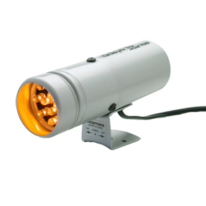 Auto Meter 12 LED Super-Lite Shift-lite: Silver
