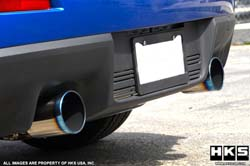 HKS Legamax Premium Exhaust (Rear Section): Mitsubishi Evolution X *SALE*