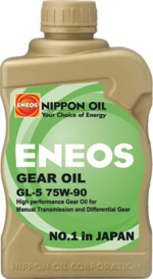 ENEOS Synthetic Manual Transmission Fluid: GL-5 75W90