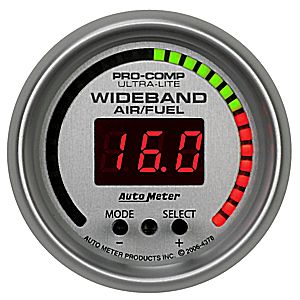 Auto Meter Ultra-Lite Gauge: Wideband Air/Fuel Ratio