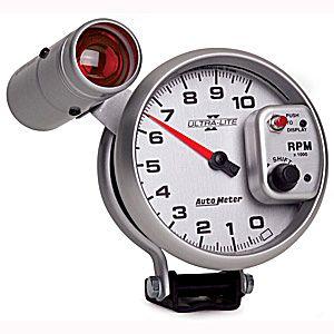 Auto Meter Ultra-Lite II Gauge : Tachometer 10000 RPM