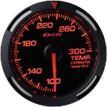 Defi 52mm Red Racer Gauge: Temperature 100-300F