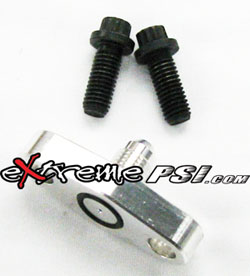 """Extreme PSI Restricted (.030"""") Oil Feed Flange to 4AN"""