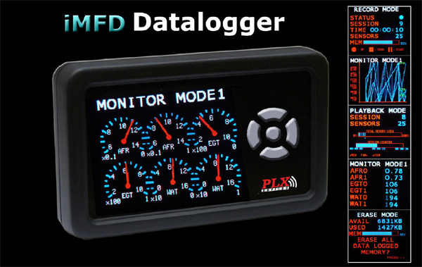 PLX Devices iMFD Data Logger