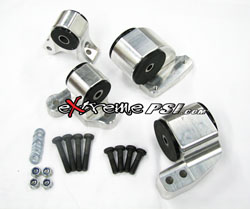 Avid Racing Billet Motor Mounts 3-Piece (No Rear Mount): 1G DSM (M/T AWD Only) *BLACK FRIDAY SALE*