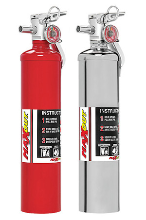 H3R Performance MaxOut Proven Dry Chemical Fire Protection:  2.5 lb Dry Chemical Fire Extinguisher