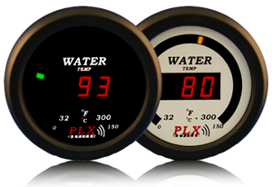PLX Devices DM-5 Water Temperature 52mm Gauge