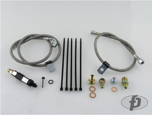 Forced Performance Oil Feed Line Kit (Oil Filter Location) : Mitsubishi Evolution VIII & IX (Journal Bearing Only)