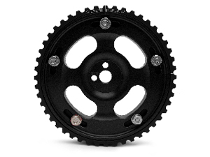 Fidanza Adjustable Cam Gears - *Limited Edition* Black: Mitsubishi Lancer EVO VIII & IX