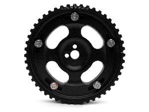 Fidanza Adjustable Cam Gears - *Limited Edition* Black: Mitsubishi Eclipse 90-99 Turbo