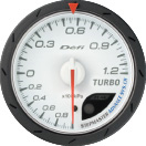 Defi Advance CR 60mm White Gauge : Boost 1.2 Bar