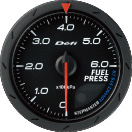 Defi Advance CR 60mm Black Gauge : Fuel Pressure