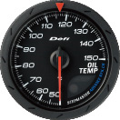 Defi Advance CR 60mm Black Gauge : Exhaust Gas Temp