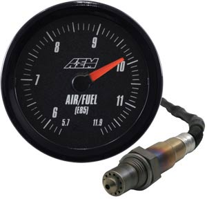 "AEM Analog ""E85"" Wideband Air/Fuel Gauge BLACK *SALE*"