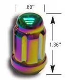 "Gorilla ""Small Diameter"" Tuner Lug Nut Kit: Prizm Light (20-pack)"