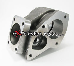 "Bullseye Power HX35 ""Stainless Steel"" Turbine Housing: Mitsubishi Bolt-On"