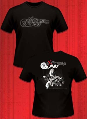 Extreme PSI Pre-Shrunk T-Shirt ver. 2 (Black): Turbocharger CHRA