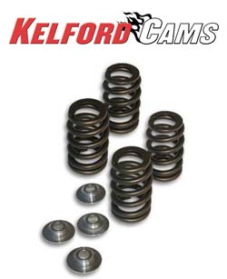 Kelford Beehive Valve Spring Set w/ Seat Locators and Titanium Retainers: Mitsubishi Eclipse 90-99
