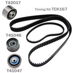 Gates Timing Belt Component Kit: Mitsubishi Eclipse 90-94
